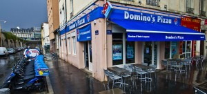 Rénovation dominos Pizza