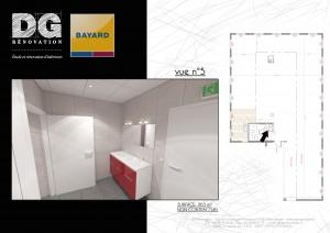 Vue 3D rénovation et travaux d'intérieur